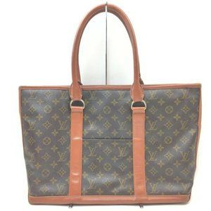 """Louis Vuitton Monogram Sac Weekend PM Tote 861216"